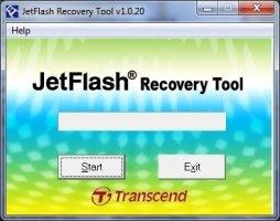 JetFlash Recovery Tool Image 1