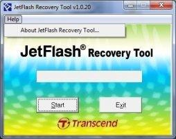 JetFlash Recovery Tool Image 3